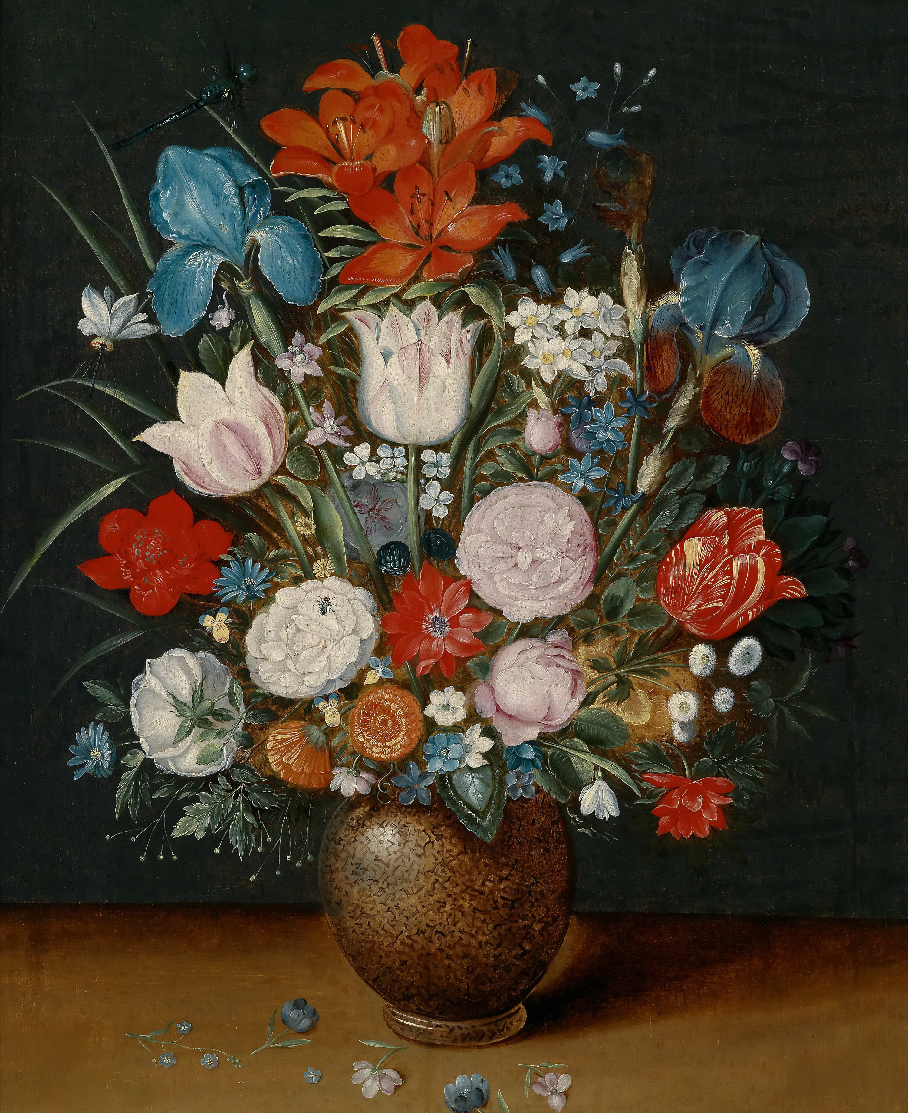 Bouquet of flowers in a vase painting jan brueghel ii the bouquet of flowers in a vase jan brueghel ii the younger oil reviewsmspy