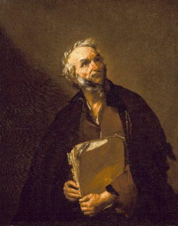 A Philosopher | Jusepe de Ribera | oil painting