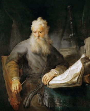 Apostle Paul | Rembrandt van Rijn | oil painting