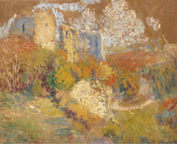 A House at the Hill`s Slope 1940 | Henri Martin | oil painting