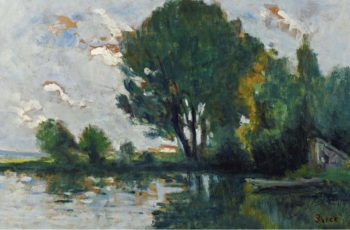 Banks of the Seine 1930 | Maximilien Luce | oil painting