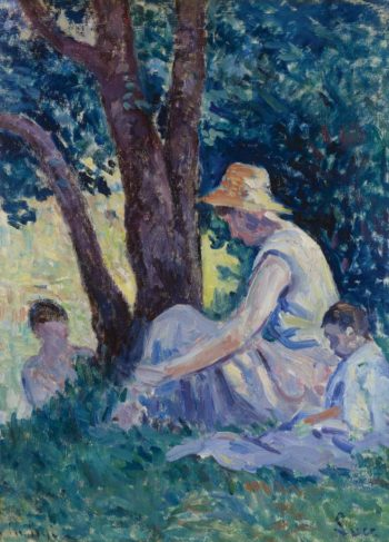Bessy Afternoon in the Counryside 1908 | Maximilien Luce | oil painting