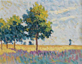 Landscape 01 | Maximilien Luce | oil painting
