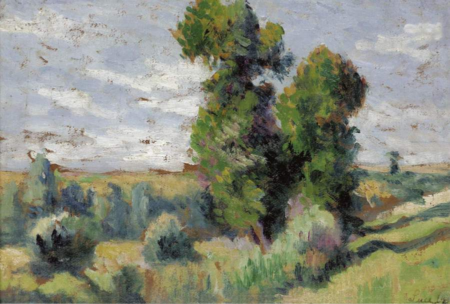 Le Bosquet 1909 | Maximilien Luce | oil painting