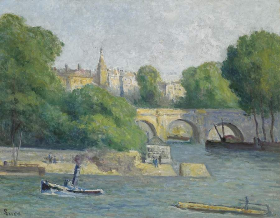 Le Vert Gallant 1926 | Maximilien Luce | oil painting