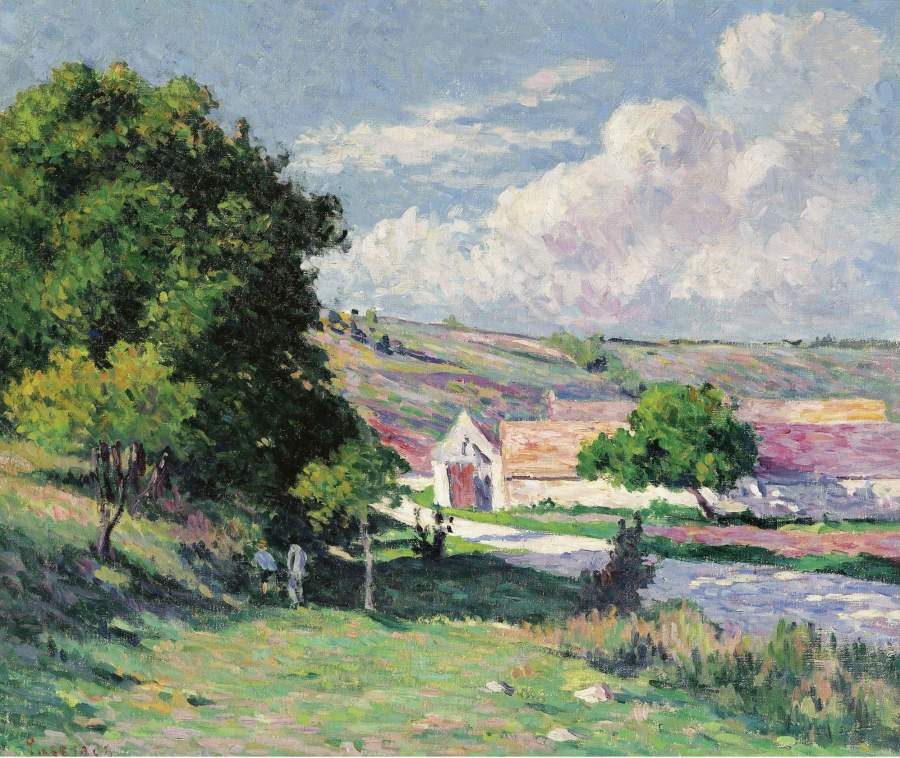 Moulineux Nut Trees 1905 | Maximilien Luce | oil painting