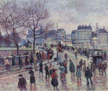 Paris le Pont  l`Archeveche 1896 | Maximilien Luce | oil painting