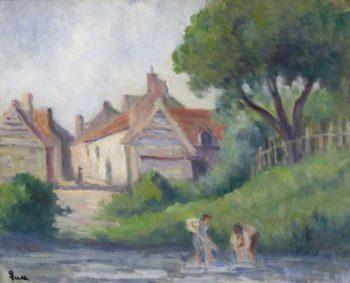 Picquigny   Maximilien Luce   oil painting