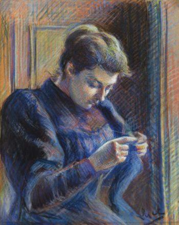 Portrait of Madame Berthier   Maximilien Luce   oil painting