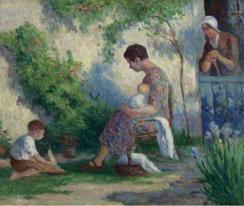 Rolleboise   Maximilien Luce   oil painting