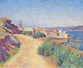 Saint Tropez 1892   Maximilien Luce   oil painting