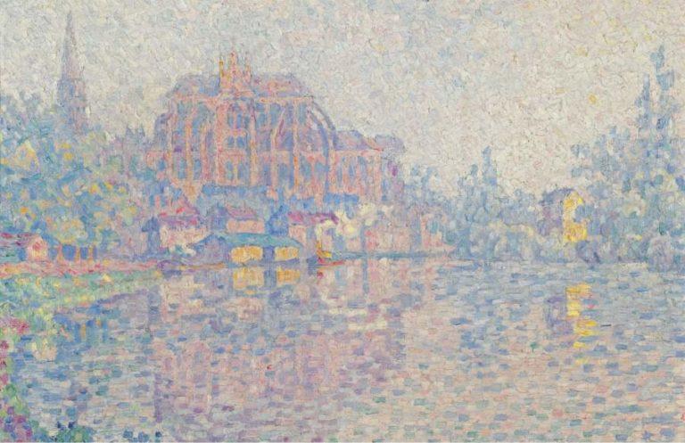 Auxerre La Riviere 1902 03 | Paul Signac | oil painting