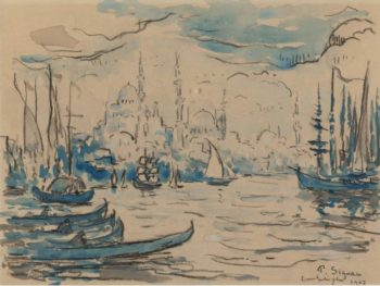 Constantinople 1907 | Paul Signac | oil painting