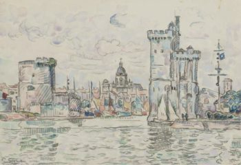 La Roshelle | Paul Signac | oil painting