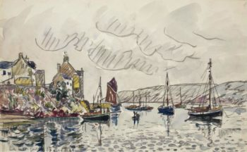 Le Conquet 1929 | Paul Signac | oil painting