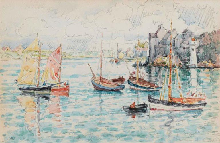 Le Conquet 1931 | Paul Signac | oil painting