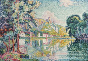 Les Andelys Chateau Gaillard 1921 | Paul Signac | oil painting