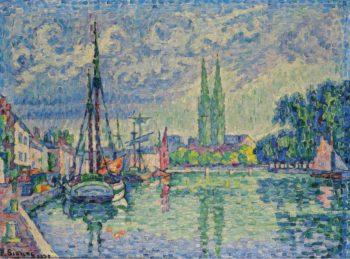 LOdet a Quimper 1929 | Paul Signac | oil painting