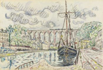 Morlaix 1927 | Paul Signac | oil painting