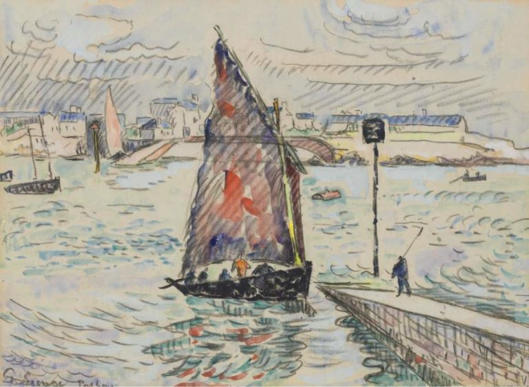 Port Luis 1922 | Paul Signac | oil painting
