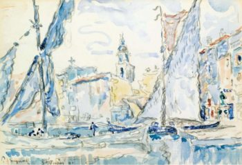 Saint Tropez 1901 | Paul Signac | oil painting