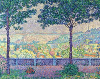 Terrace of Meudon 1899 | Paul Signac | oil painting