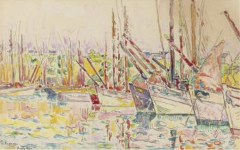 The Boats Groix 1923 | Paul Signac | oil painting