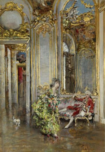 A Friend of Marquis 1875 | Giovanni Boldini | oil painting