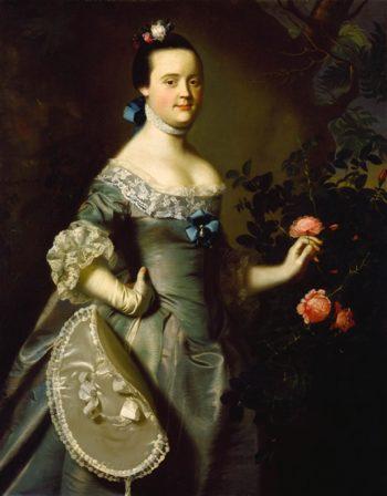Hannah Loring   John Singleton Copley   oil painting