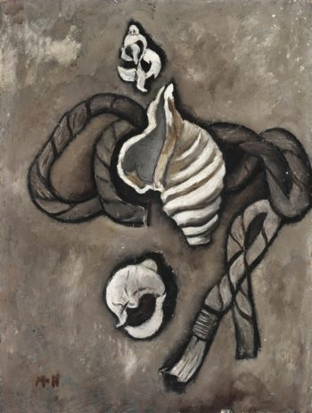 Still Life: Rope And Shells | Marsden Hartley | oil painting