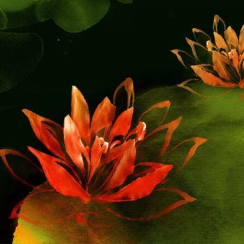 Cool Flower Paintings
