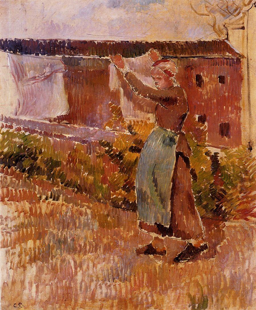 Camille Pissarro: resimler ve hayat