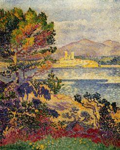 Antibes, Morning 1908 | Henri Edmond Cross
