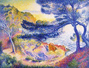 Cape Layet, Provence 1904 | Henri Edmond Cross