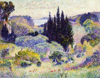 Cypress, April 1904 | Henri Edmond Cross