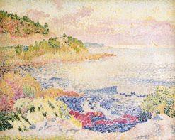 Coast of Provence, Le Four des Maures 1906 1907 | Henri Edmond Cross