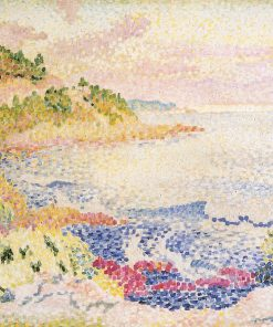 Coast of Provence, Le Four des Maures 1906 1907 | Henri Edmond Cross