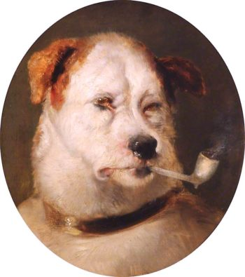 A Jack in Office | Sir Edwin Landseer | oil painting