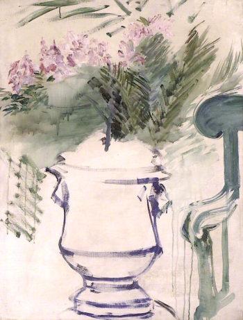 A Garden Urn | edouard Manet | oil painting