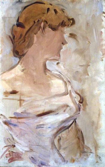 Au Bal – Marguerite de Conflans en toilette de bal | edouard Manet | oil painting