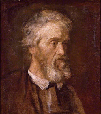 Thomas Carlyle   George Frederic Watts   oil painting