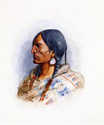 Crow Chief | Charles Marion Russell | oil painting
