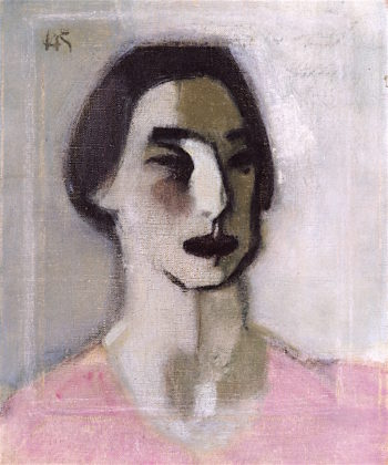 Forty Years Old | Helene Schjerfbeck | oil painting