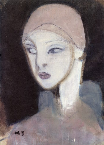 Girl from the Islands | Helene Schjerfbeck | oil painting