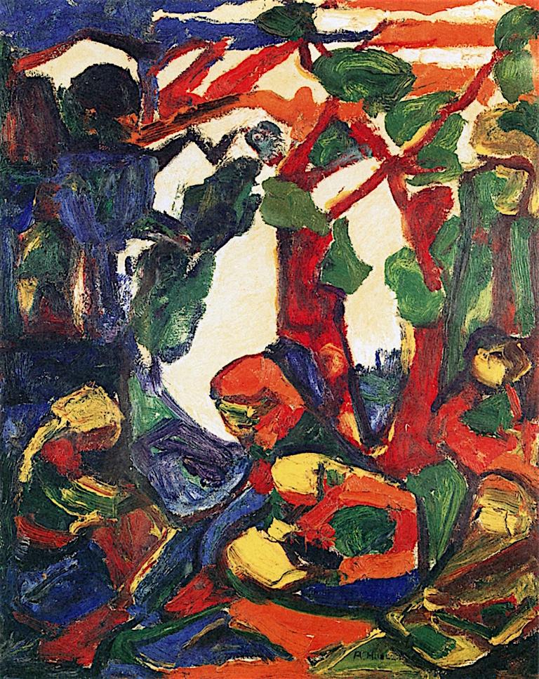Abstraction | Adolf Hölzel | oil painting