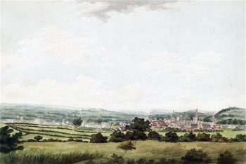 A View of the City of Oxford | Joseph Mallord William Turner | oil painting