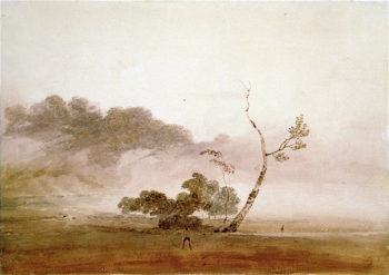 Autumn Morning near Fonthill | Joseph Mallord William Turner | oil painting