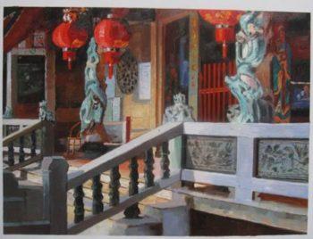 Custom Temple Painting