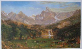 The Rocky Mountains Landers Peak 1869
