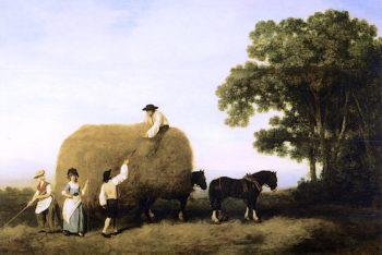 Haymakers   George Stubbs   oil painting